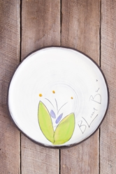 Bloom Be Round Plate (Small/Large - in 5 blooming colors!)