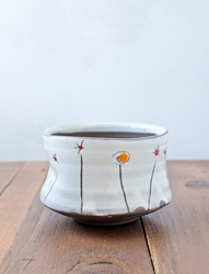Field Flowers Tea Bowl