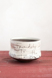 Friendship Poem Tea Bowl