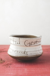 Gratitude Poem Tea Bowl