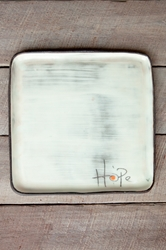 Hope Square Plate (Small/Large)