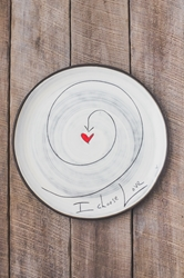 I Choose Love Round Plate (Small/Large)
