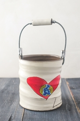 Love Rules Bucket (Small/Large)