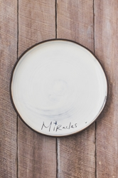 Miracles Round Plate (Small/Large)