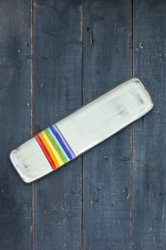 Rainbow Long Rectangle Tray