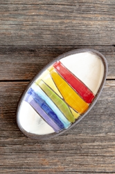 Rainbow Mini Oval Tray
