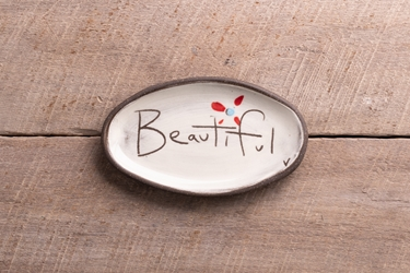Beautiful Mini Oval Tray