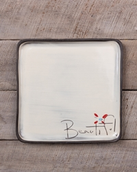 Beautiful Square Plate (Small/Large)