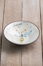 Bee the Change Pasta Bowl