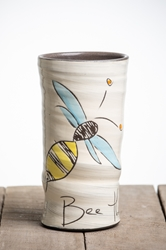 Bee the Change Round Vase