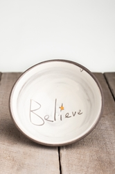 Believe Small Bowl