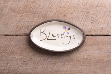 Blessings Mini Oval Tray