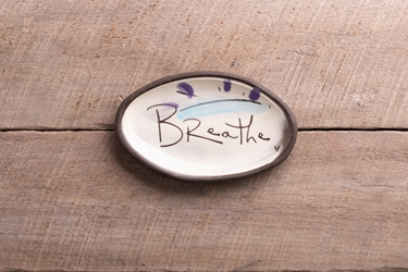Breathe Mini Oval Tray