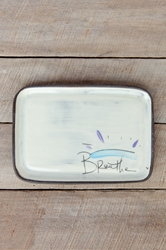 Breathe Rectangle Plate