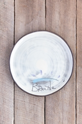 Breathe Round Plate (Small/Large)