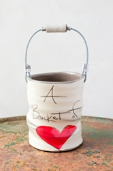 Bucket of Love (heart) - (Small/Large)