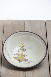 Christmas Tree Pasta Bowl