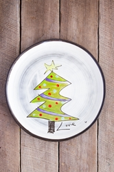 Christmas Tree Round Plate (Small/Large)