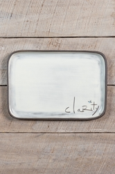 Clarity Rectangle Plate