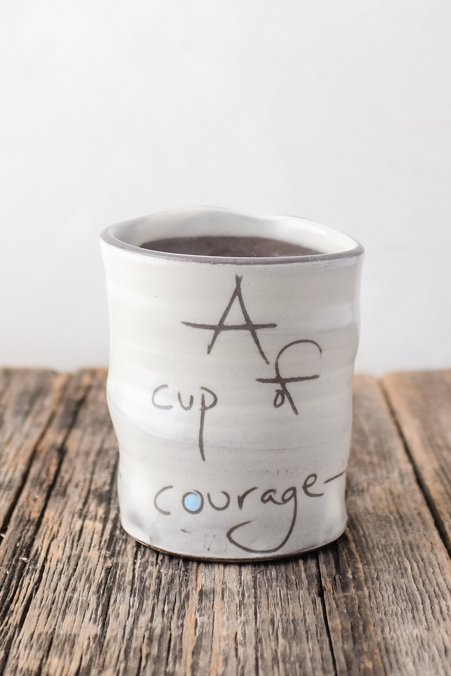 A cup of Courage