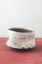 Family Poem Tea Bowl