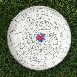 Friendship Poem Platter