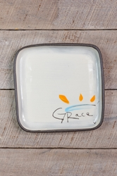 Grace Square Plate (Small/Large)