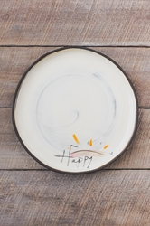 Happy Round Plate (Small/Large)