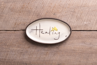Healing Mini Oval Tray