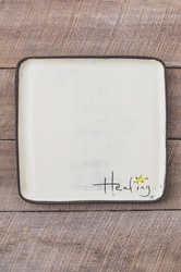 Healing Square Plate (Small/Large)