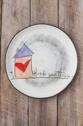 Home Sweet Home Round Plate (Small/Large)