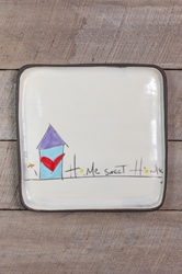 Home Sweet Home Square Plate (Small/Large)