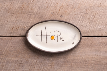 Hope Mini Oval Tray