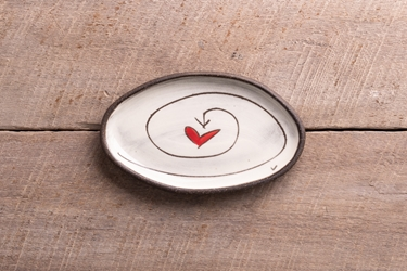 I Choose Love Mini Oval Tray