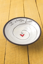 I Choose Love Pasta Bowl