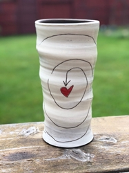 I Choose Love Round Vase