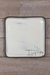 Inspire Square Plate (Small/Large)