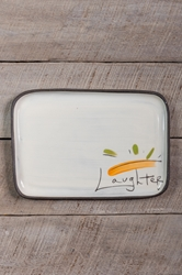 Laughter Rectangle Plate