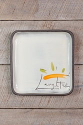 Laughter Square Plate (Small/Large)