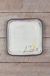 Light Square Plate (Small/Large)