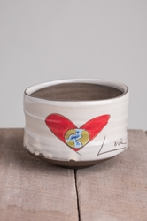 Love Rules Tea Bowl