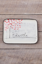 Love Tree Rectangle Plate