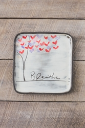 Love Tree Square Plate (Small/Large)