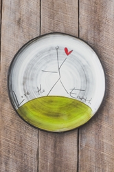 Love the Earth Round Plate (Small/Large)