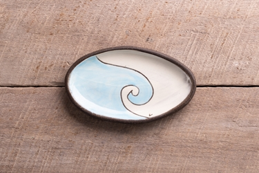 Love the Water Mini Oval Tray