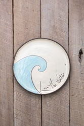 Love the Water Round Plate (Small/Large)