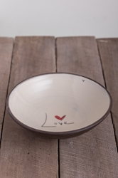 Love (word) Pasta Bowl