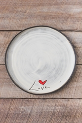 Love (word) Round Plate (Small/Large)