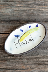 Mazel Mini Oval Tray