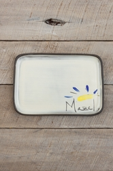 Mazel Rectangle Plate